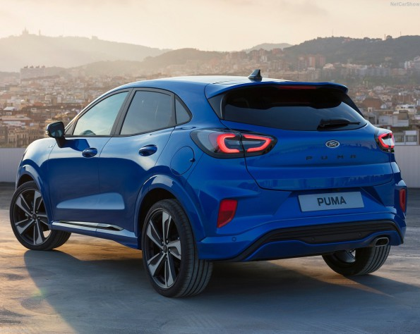Ford Puma lease achterkant