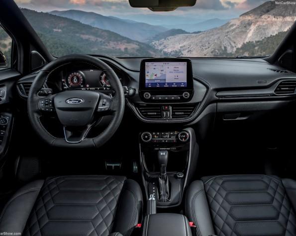 Ford Puma lease dashboard
