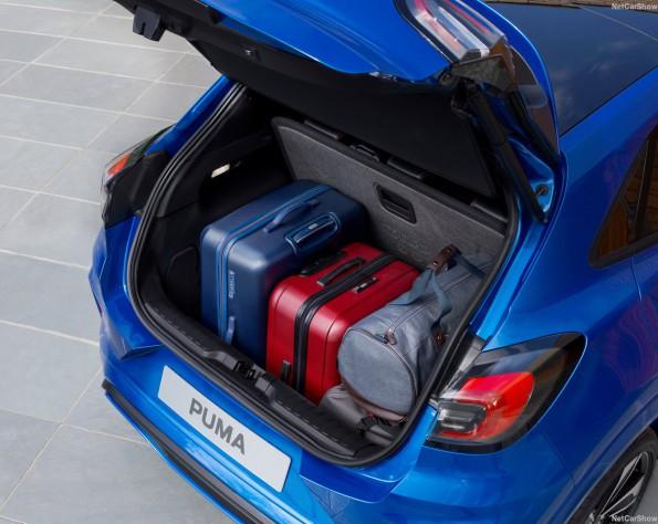 Ford Puma lease kofferbak ruimte
