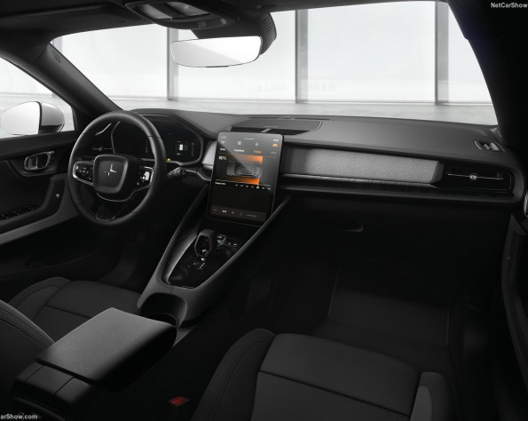 Interieur Polestar 2 lease
