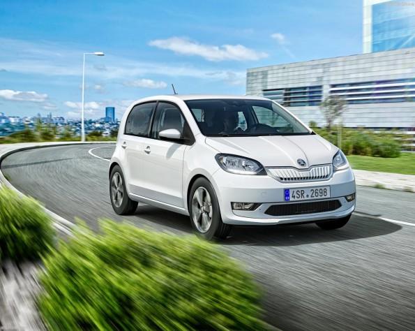 Skoda Citigo-E iV lease rijdend