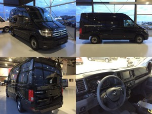 Volkswagen e-Crafter lease collage