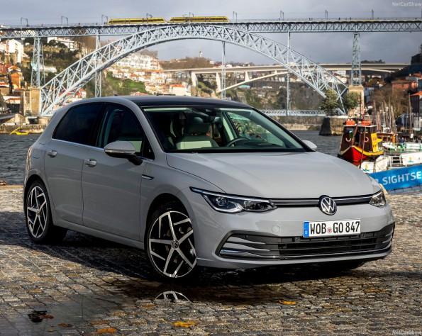 Volkswagen Golf 8 lease voorkant rechts