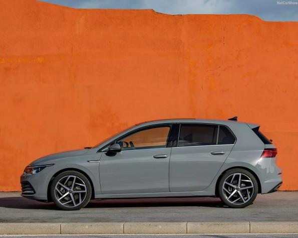 Volkswagen Golf 8 lease zijkant