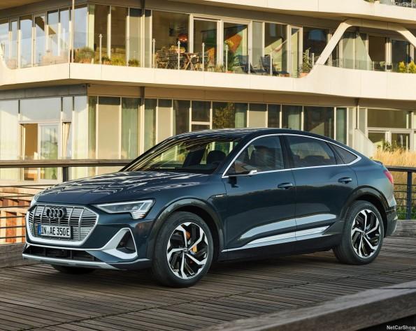 Audi e-tron Sportback lease voorkant