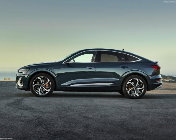 Audi e-tron Sportback lease zijkant
