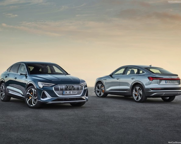 Audi e-tron Sportback lease in 2 kleuren