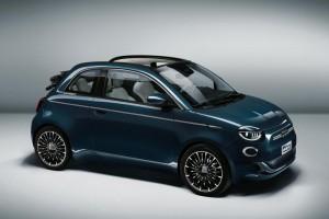 Fiat 500e design