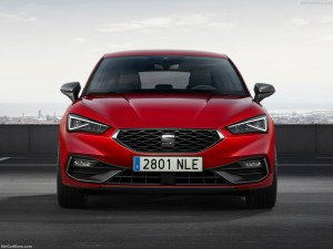 Seat Leon lease voorkant