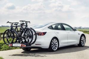 Tesla Model 3 met trekhaak