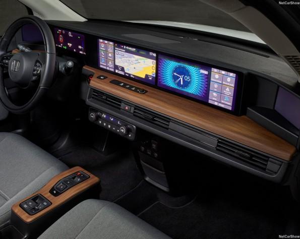 Honda e lease interieur