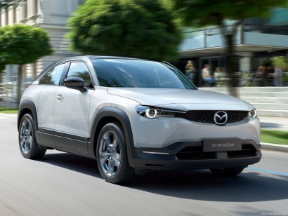 Mazda MX-30 lease rijdend