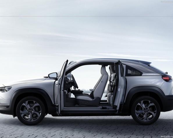 Mazda MX-30 lease deuren geopend