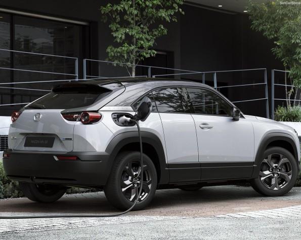 Mazda MX-30 lease achterkant