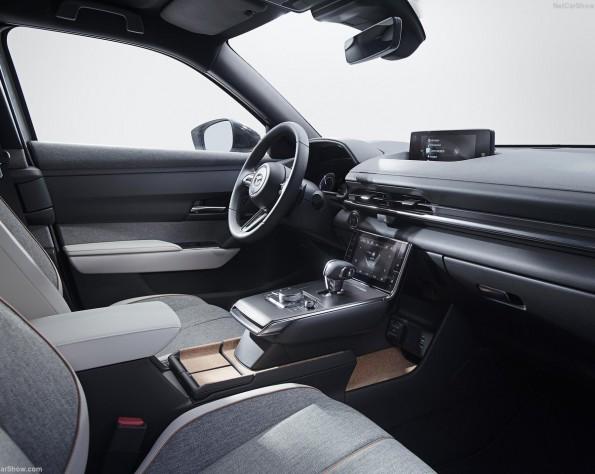 Mazda MX-30 lease interieur voor