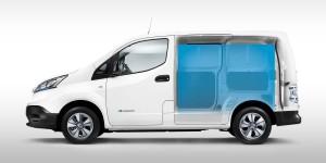 Nissan e-NV200 laadruimte