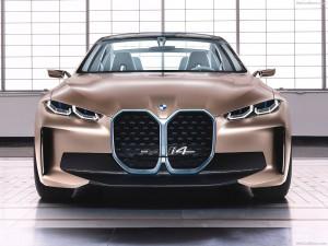 BMW i4 voorkant recht