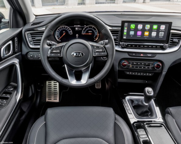 Kia XCeed lease interieur