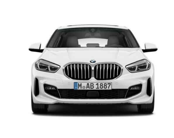 BMW 1-serie voorkant recht