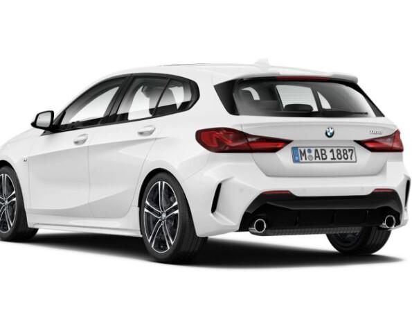BMW 1-serie achterkant schuin