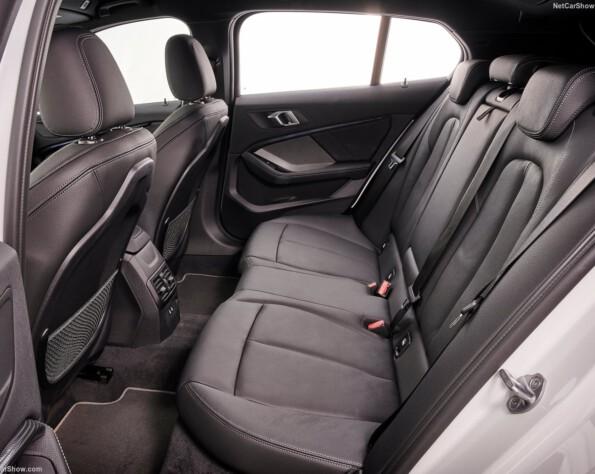 BMW 1-serie achterbank
