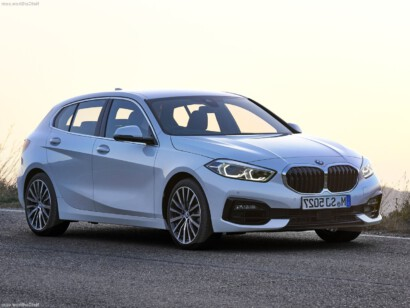 BMW 1-serie lease voorkant