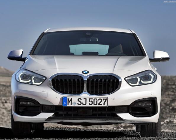BMW 1-serie lease voorkant recht
