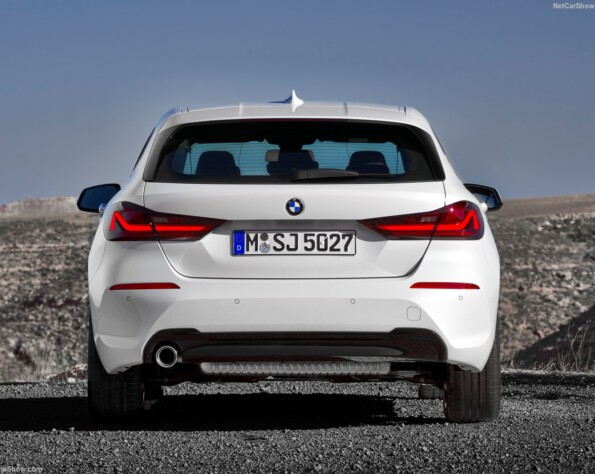 BMW 1-serie lease achterkant