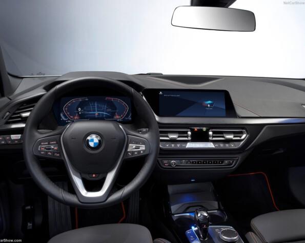 BMW 1-serie lease stuurwiel