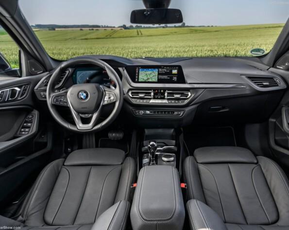 BMW 1-serie lease interieur voor