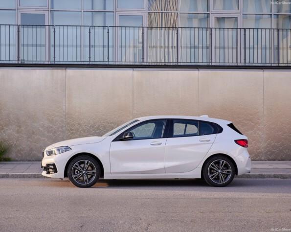BMW 1-serie lease zijkant