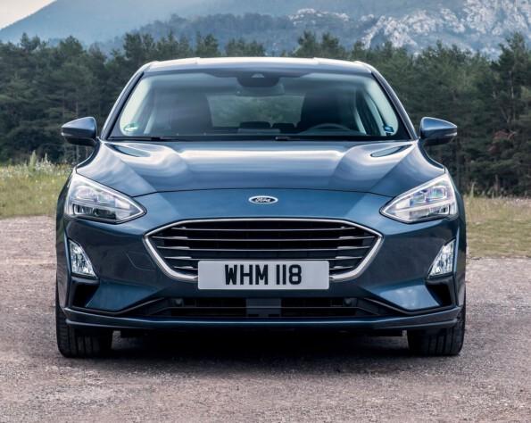 Ford Focus Hatchback lease voorkant