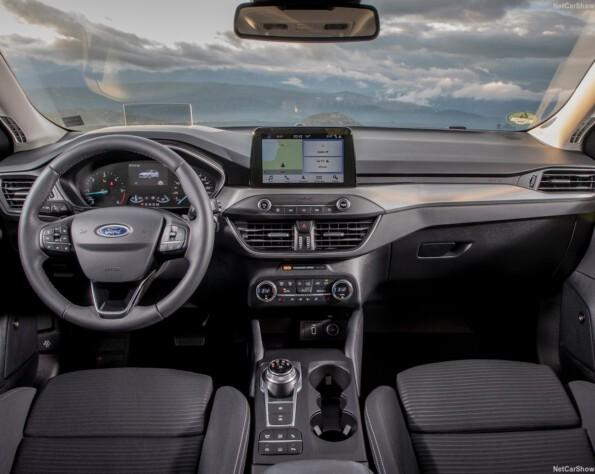 Ford Focus Hatchback lease dashboard