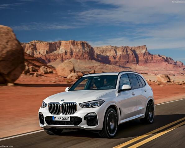 Linksvoor BMW X5