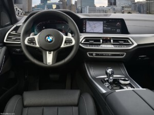 BMW X5 lease interieur