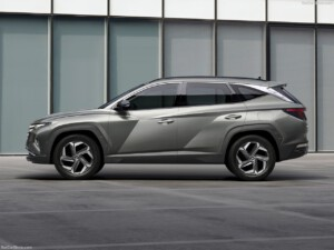 Hyundai Tucson zijkant