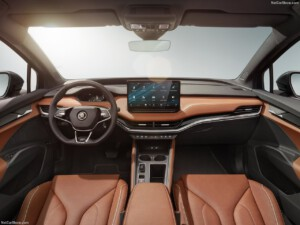 Skoda Enyaq lease interieur
