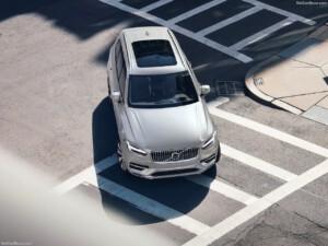 Bovenaanzicht Volvo XC90