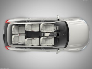 6 zitplaatsen Volvo XC90