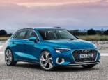 Audi A3 lease voorkant