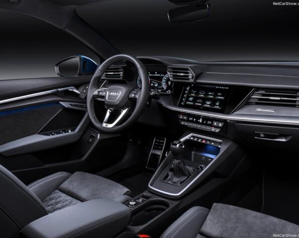 Audi A3 lease interieur voor