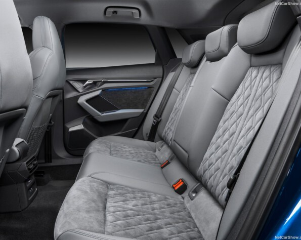Audi A3 lease achterbank