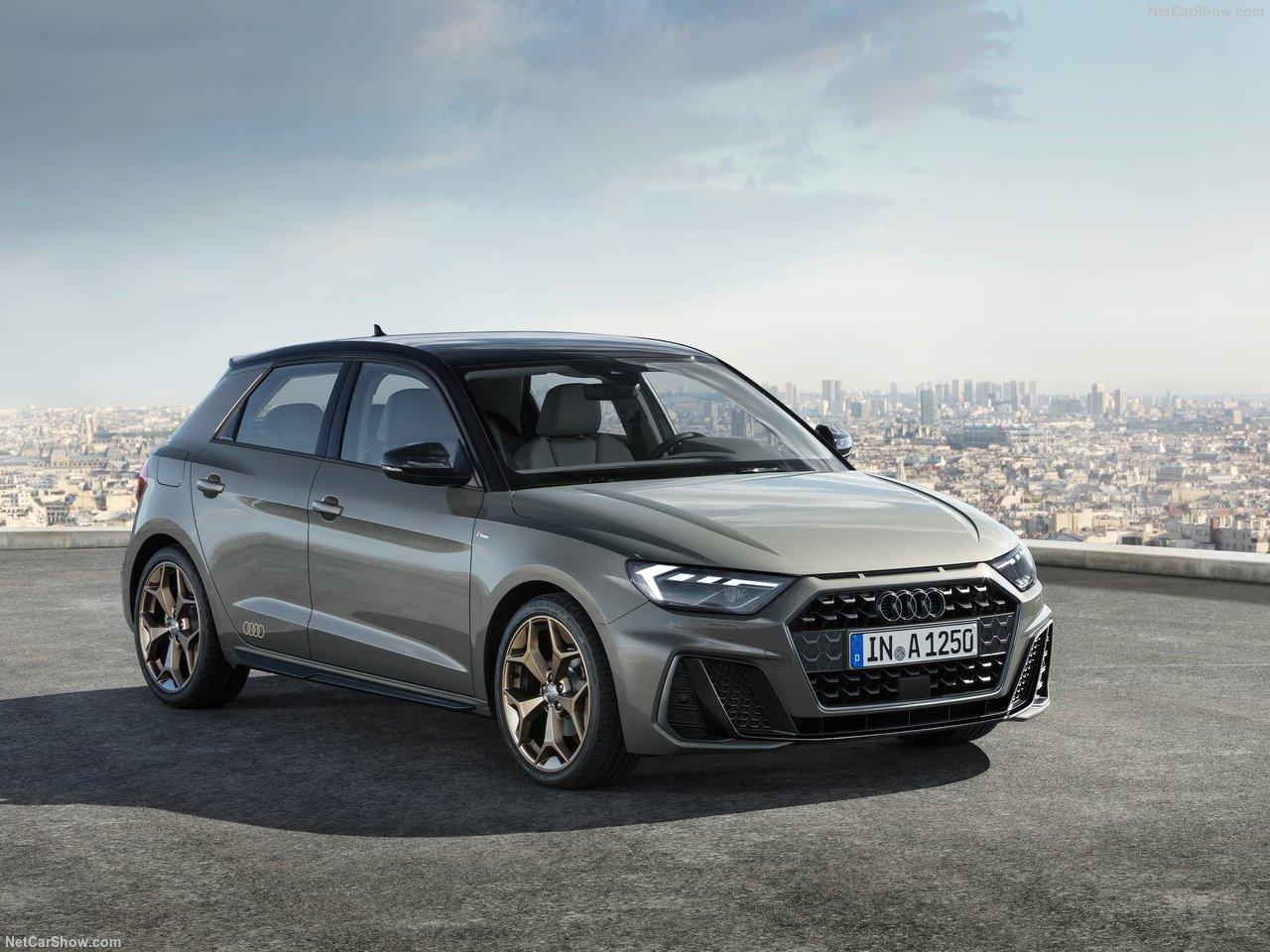 Audi A1 lease voorkant schhuin