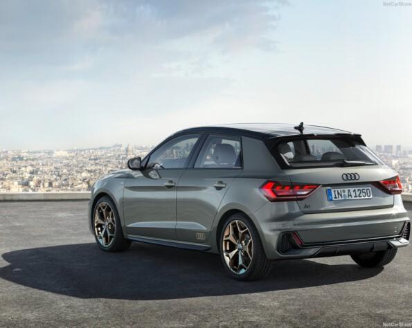 Audi A1 lease schuin