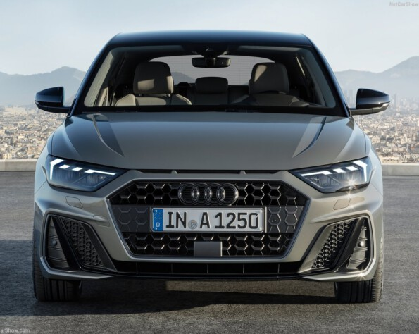 Audi A1 lease voorkant