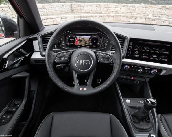 Audi A1 lease stuurwiel