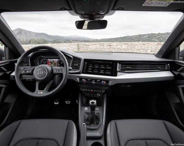 Audi A1 lease interieur voor