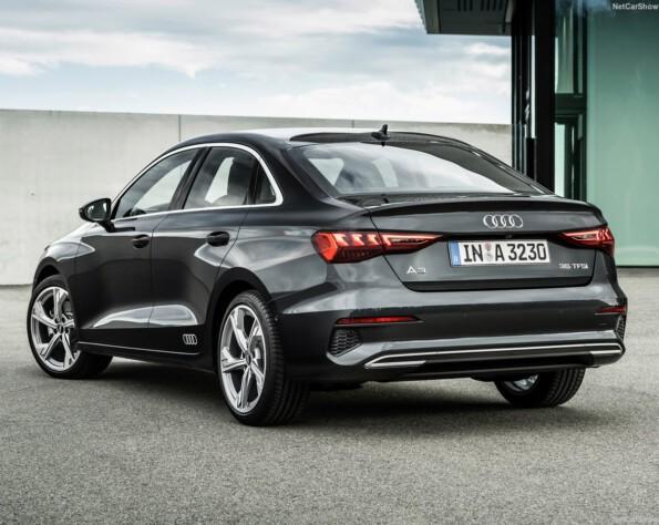 Audi A3 Limousine lease achterkant