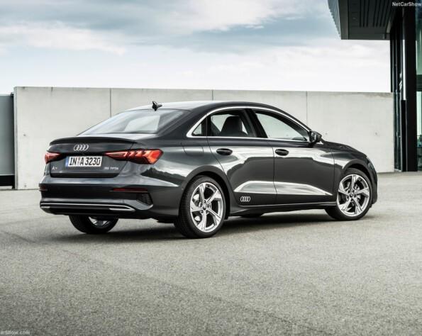 Audi A3 Limousine lease achterkant schuin