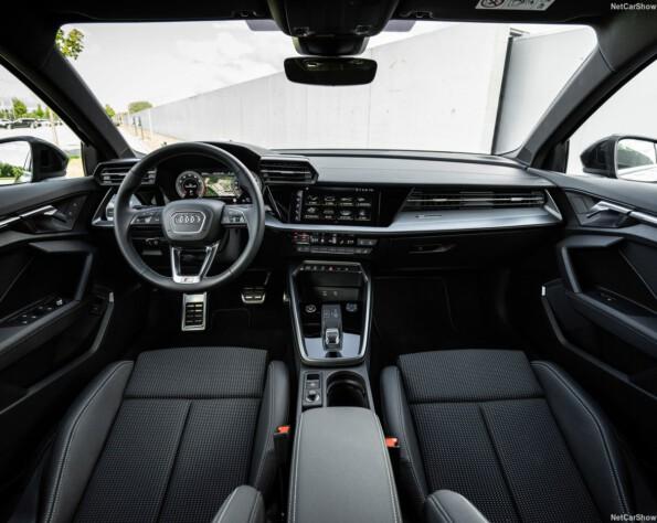 Audi A3 Limousine lease interieur voor